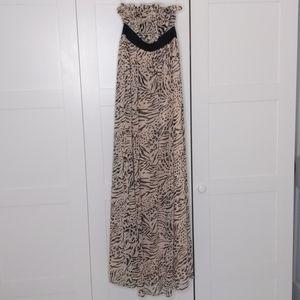 Maxi Dress- Animal Print